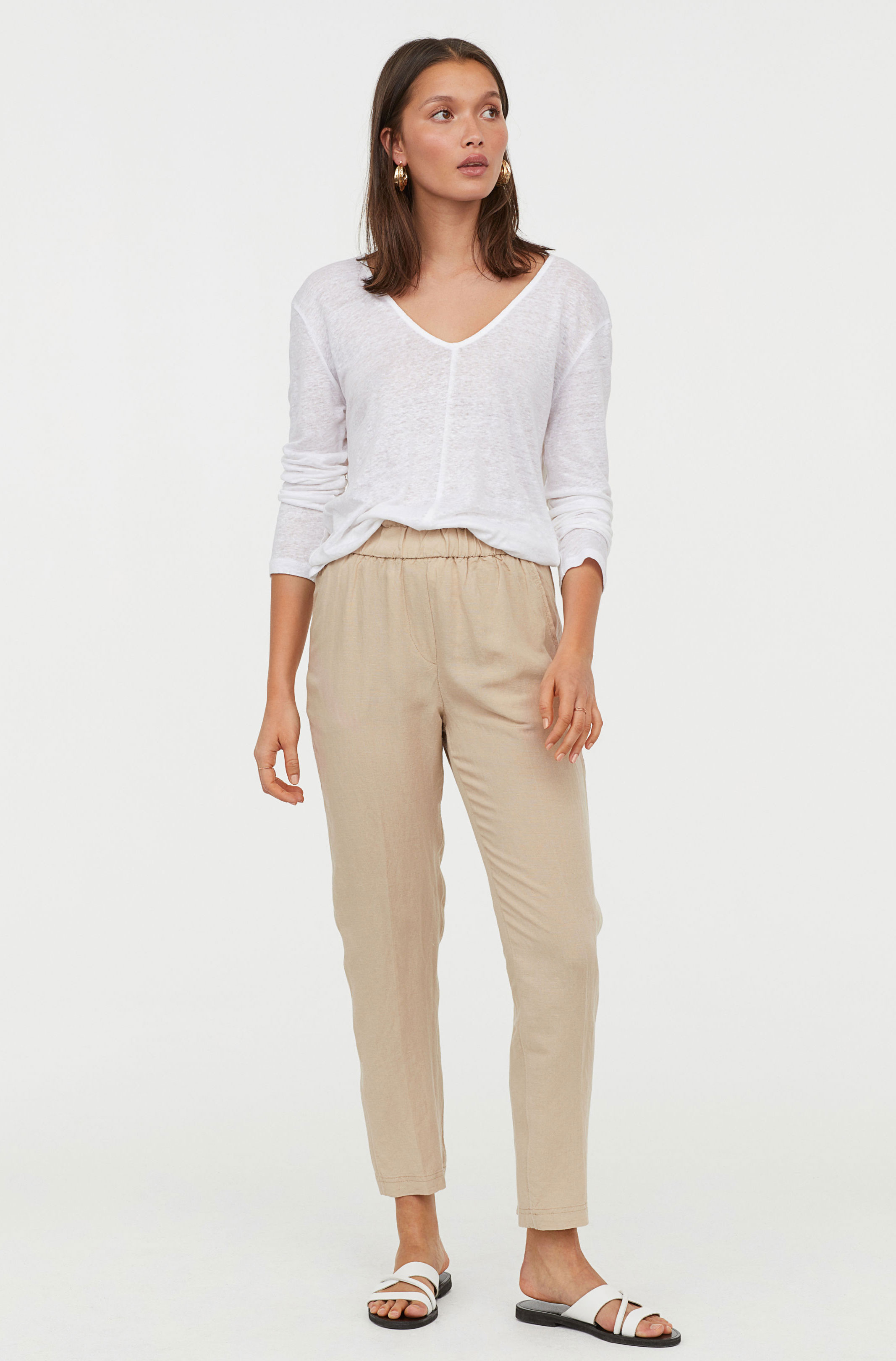 H&M Neutral Pants  $24.99