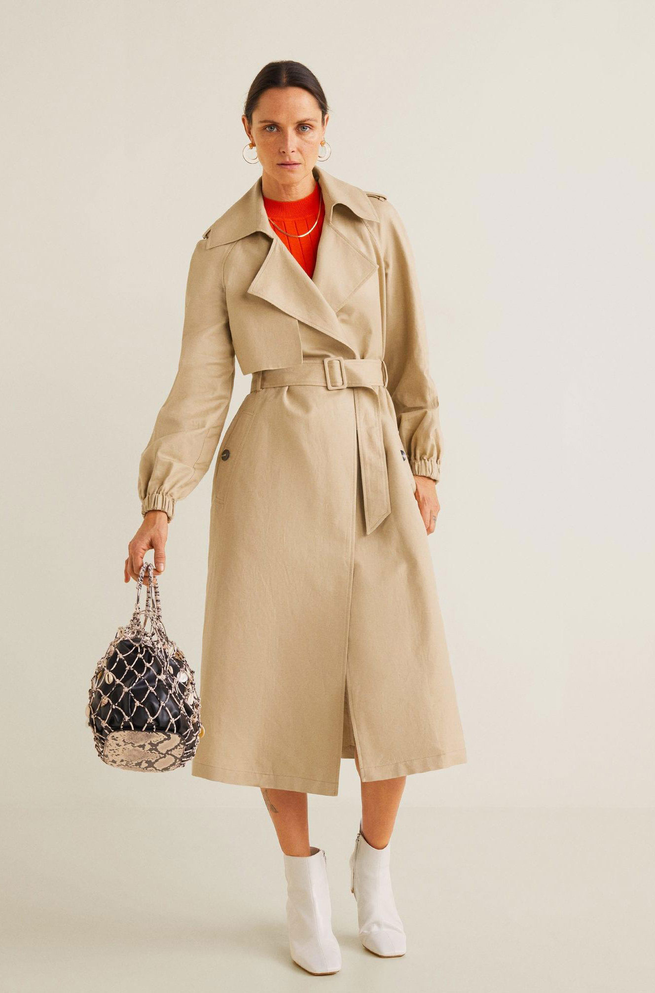 Mango Trench Coat  $149