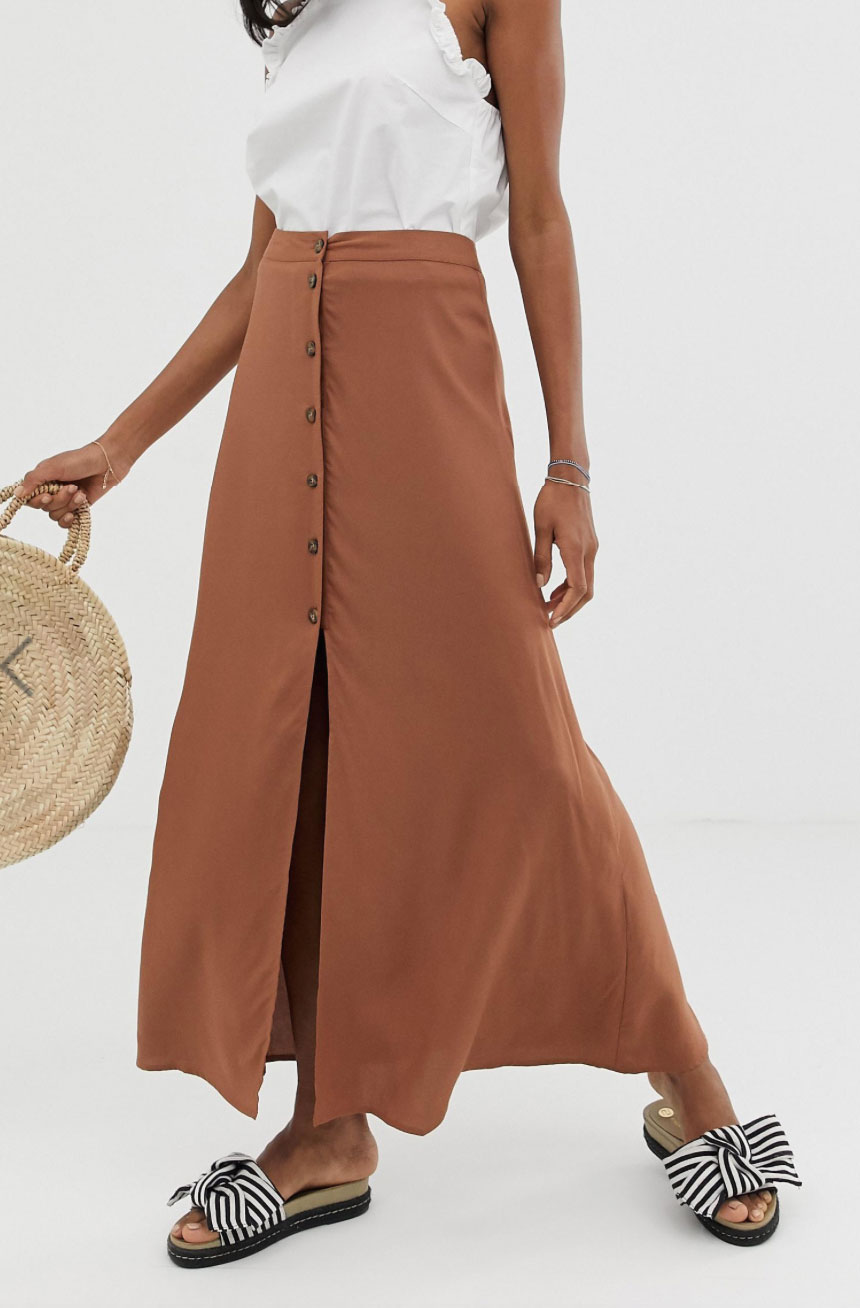 Asos Neutral Skirt $45