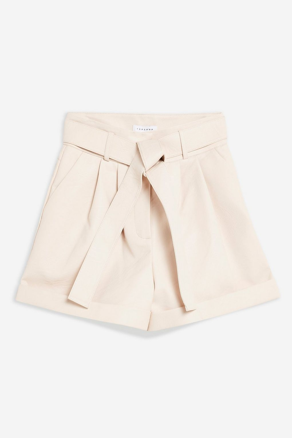 Top Shop Leather Shorts     $60