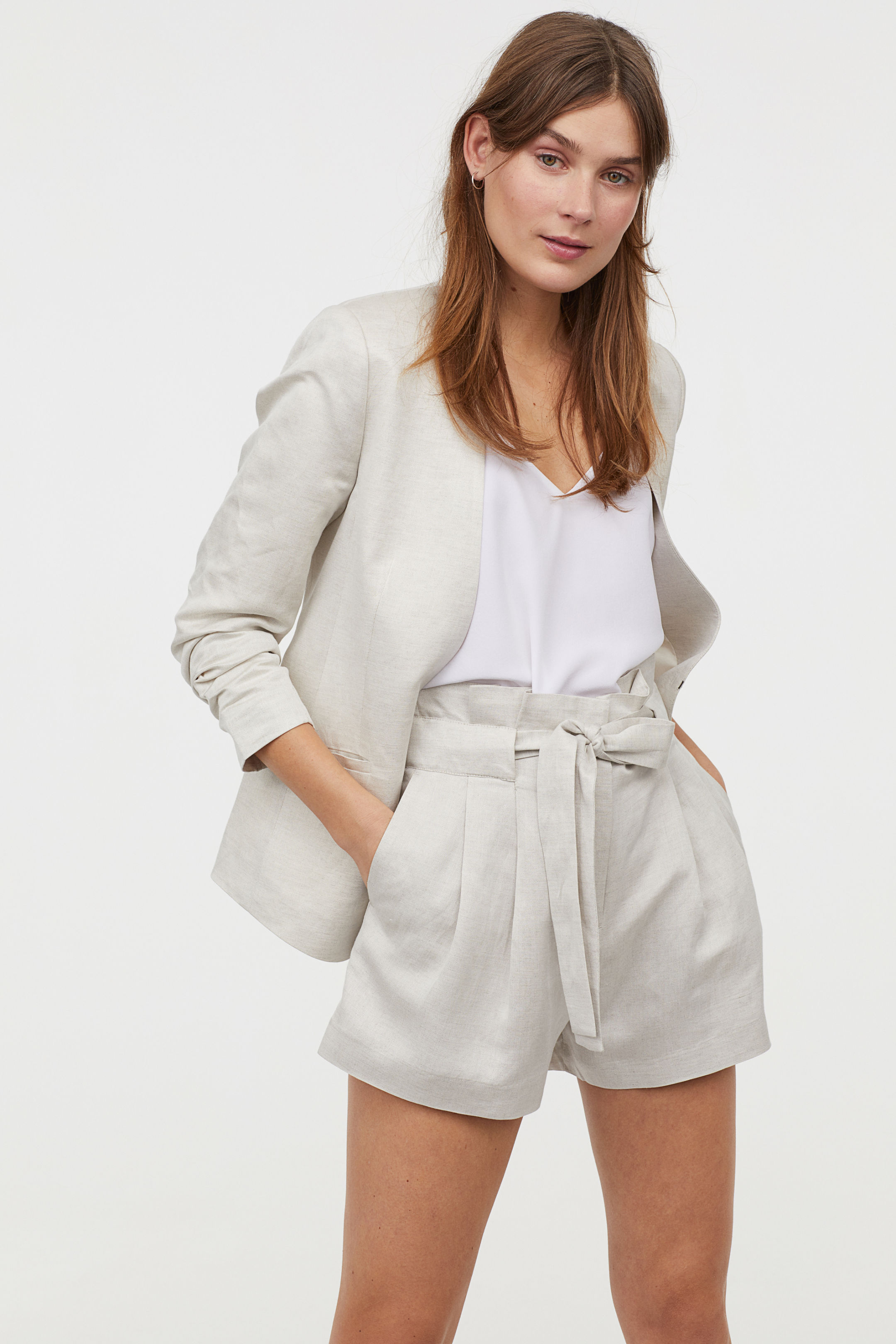 H&M Linen Suit Separates     $84.98