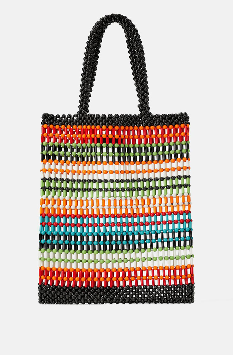 Zara Striped Shopper   $69.90