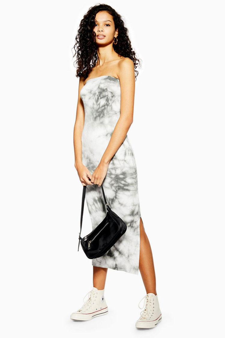 Top Shop Tie-Dye Dress  $38