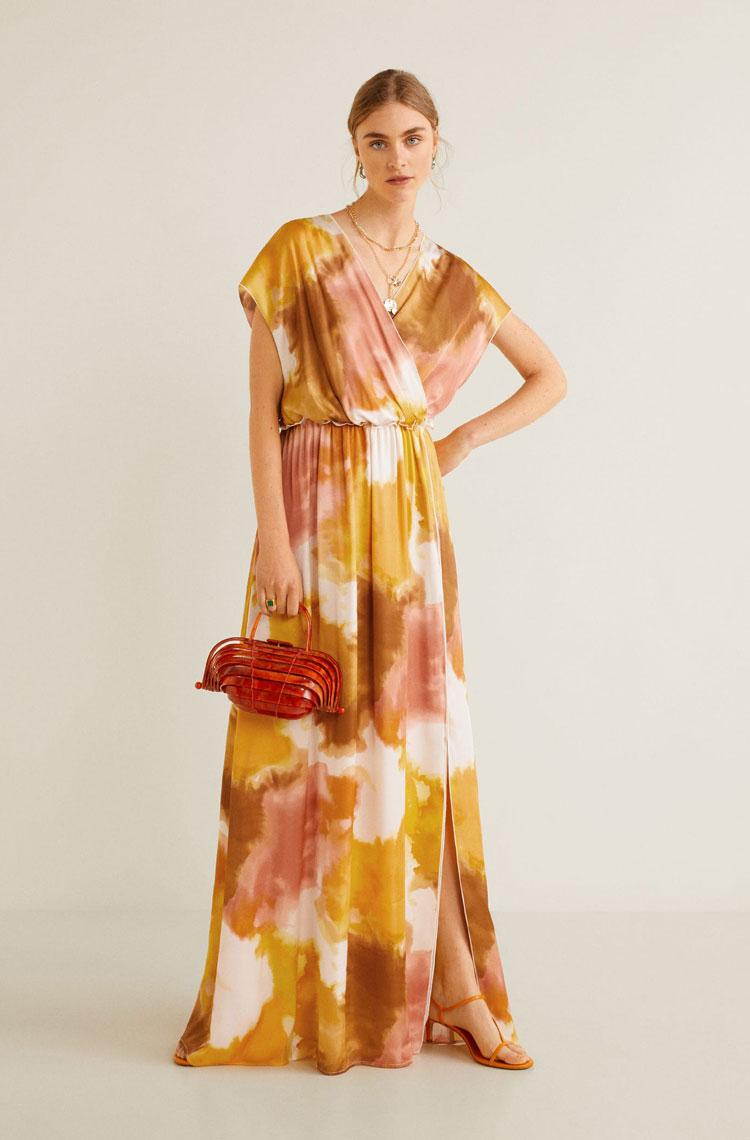 Mango Tie-Die Maxi Dress  $169.99