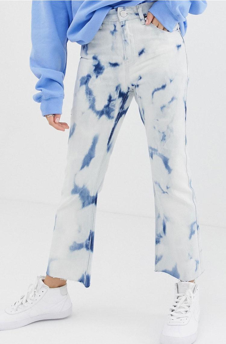Asos Tie-Dye Jeans  $51