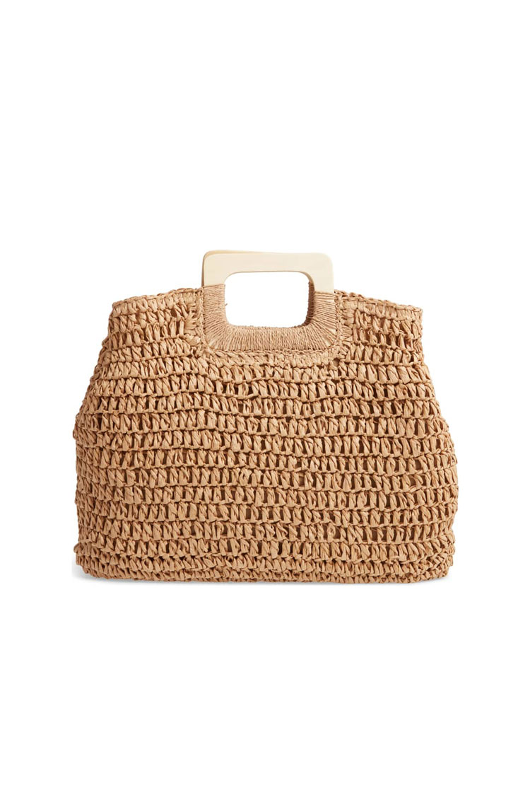 BP Straw Tote     $39