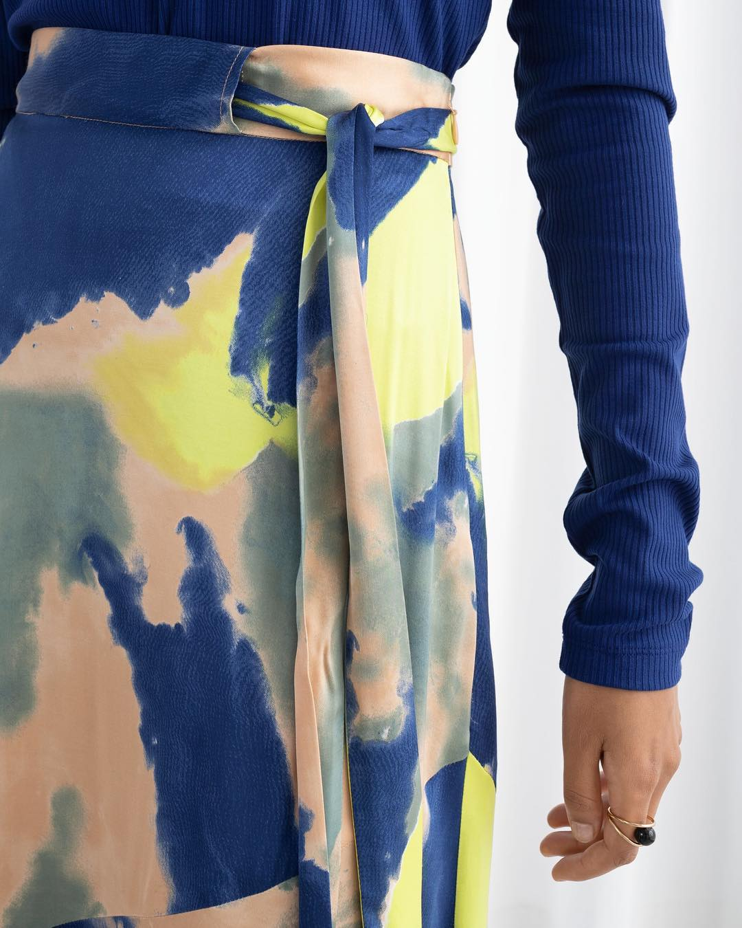 Make a Splash in Tie-Dye - Tie your outfit together with a swirl of color.Photo: @andotherstories
