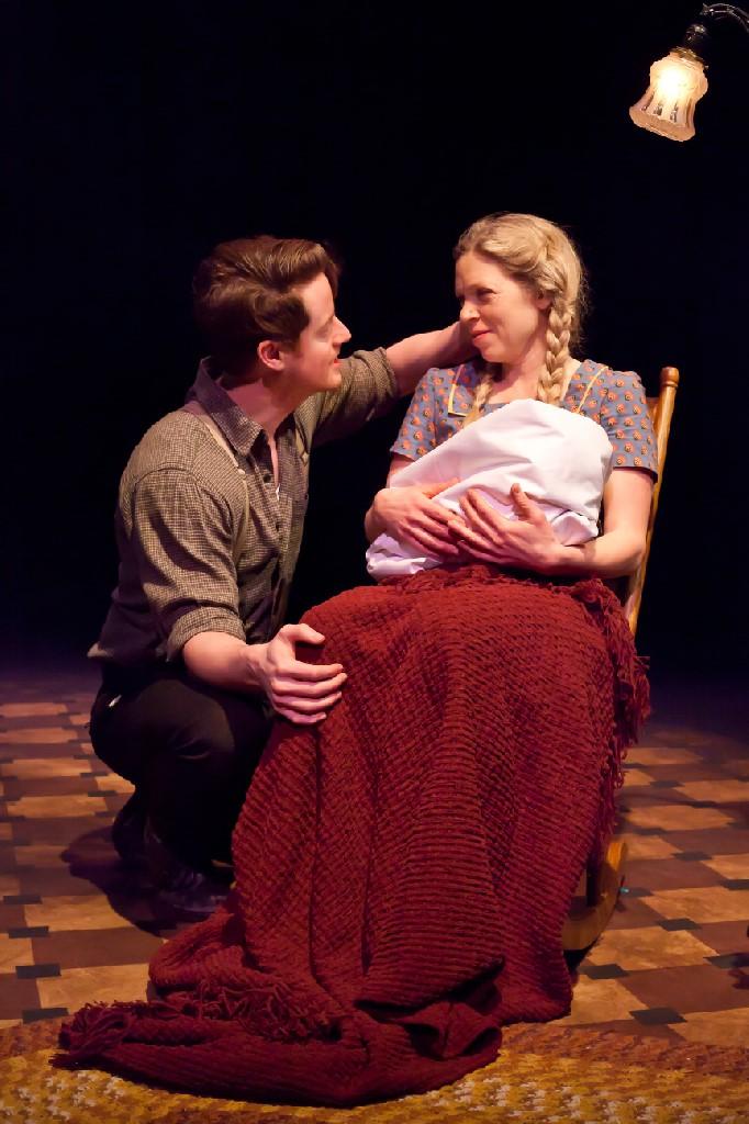 David Patrick Fleming and Liisa Repo-Martell  Photo by Timothy Richard Photography