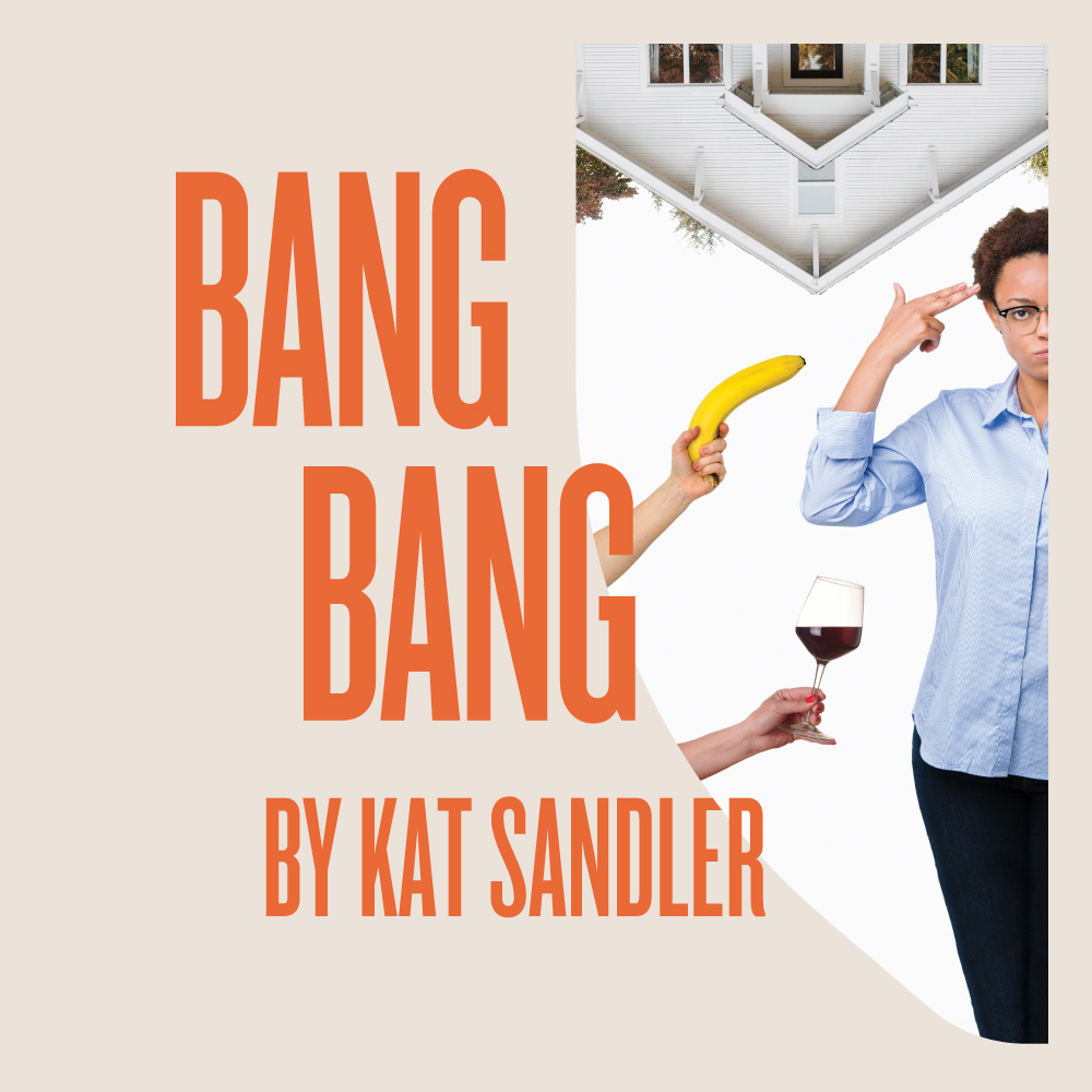 Bang Bang - by Kat SandlerOct 22–Nov 10, 2019Lila is a Black former police officer whose career ended after she shot an unarmed Black youth. Her story is fictionalized by Tim, a white playwright whose play about the shooting takes liberties with the facts. Now there's talk of a film, and Tim visits Lila to discuss. What unfolds is a raucous struggle on the subjects of responsibility and representation, framed by Kat Sandler's trademark wit.Learn More GET TICKETS