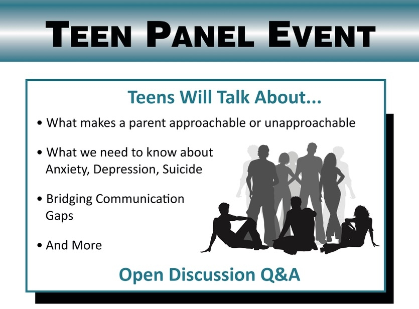 April 28, 20184:00pm - 7:30pm - Teen Panel EventProfessional Golfers Career College26109 Ynez Rd. - TemeculaBring your Tweens and Teens!Parents will walk away with a better understanding.Kids will walk away realizing they are not alone.Questions? Contact Traci Williams at traci@alovingway.com or 951-240-1407.