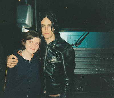 With Jimmy Gnecco / Ours concert 2001