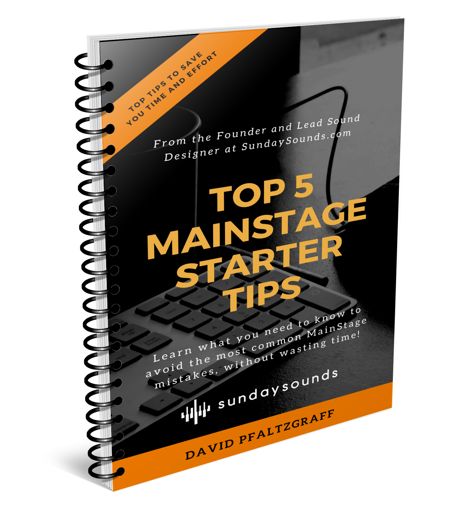 TOP 5 MAINSTAGE STARTER TIPS - In this E-Book written by David Pfaltzgraff you'll learn the top 5 things David thinks every new MainStage user should know. This E-Book is 100% free!