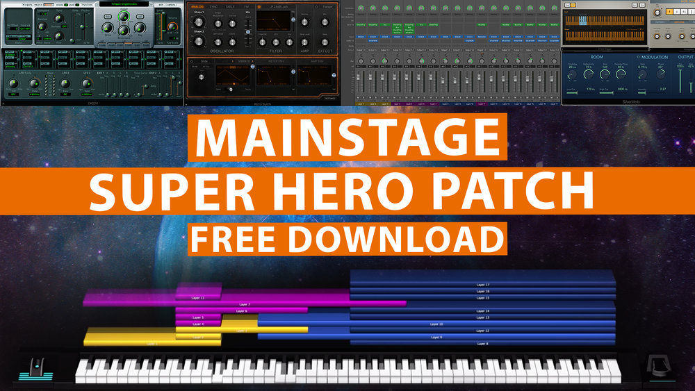 Free MainStage Patch! - Avengers Theme — MainStage Patches and