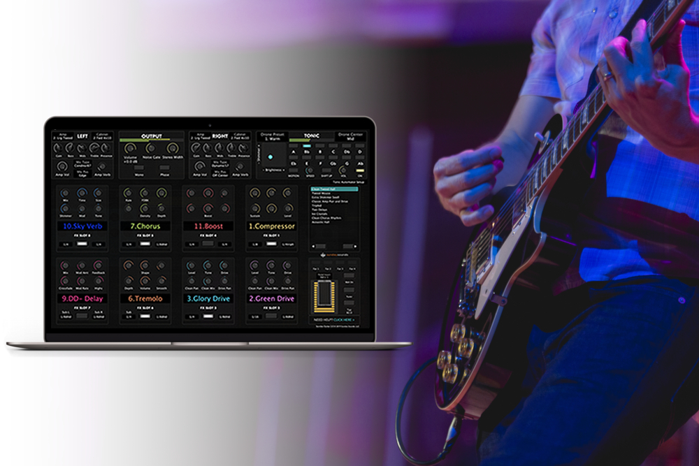 Sunday Guitar: Next Level Tone and Control - Sunday Guitar is a MainStage 3 guitar rig designed for modern worship guitarists. Take your tone to the next level with our flagship guitar template for MainStage.