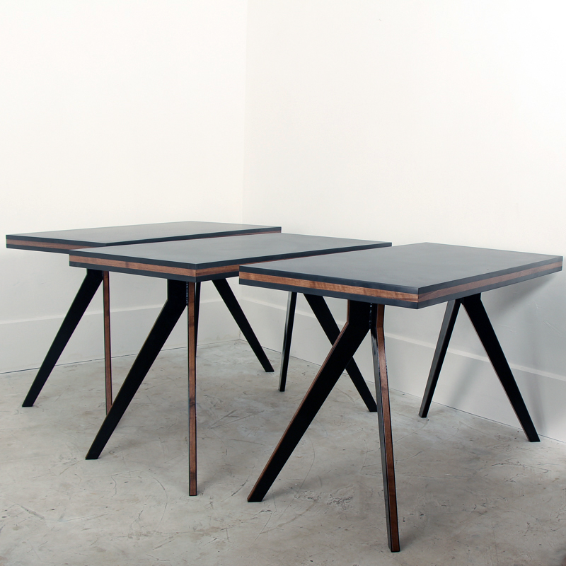 Arrow Phenolic Walnut Sandwich Cafe Table