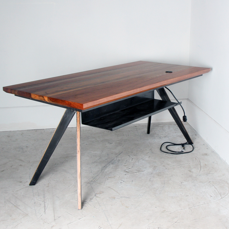 Arrow Walnut Desk