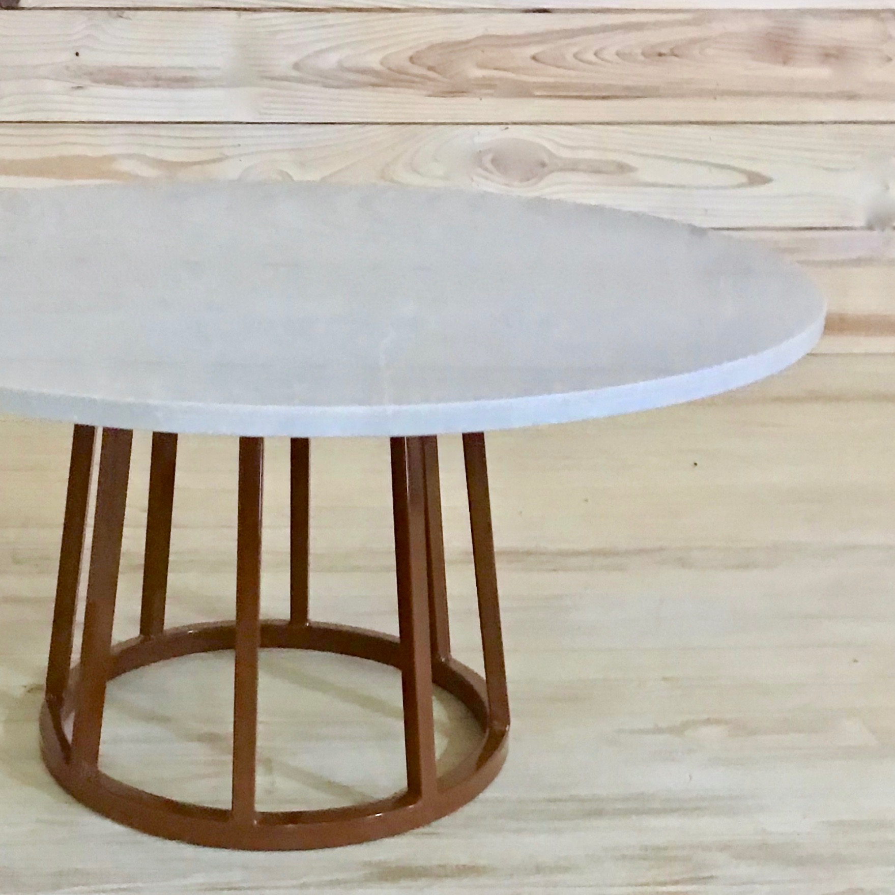 B.Spoke Quartz side Table