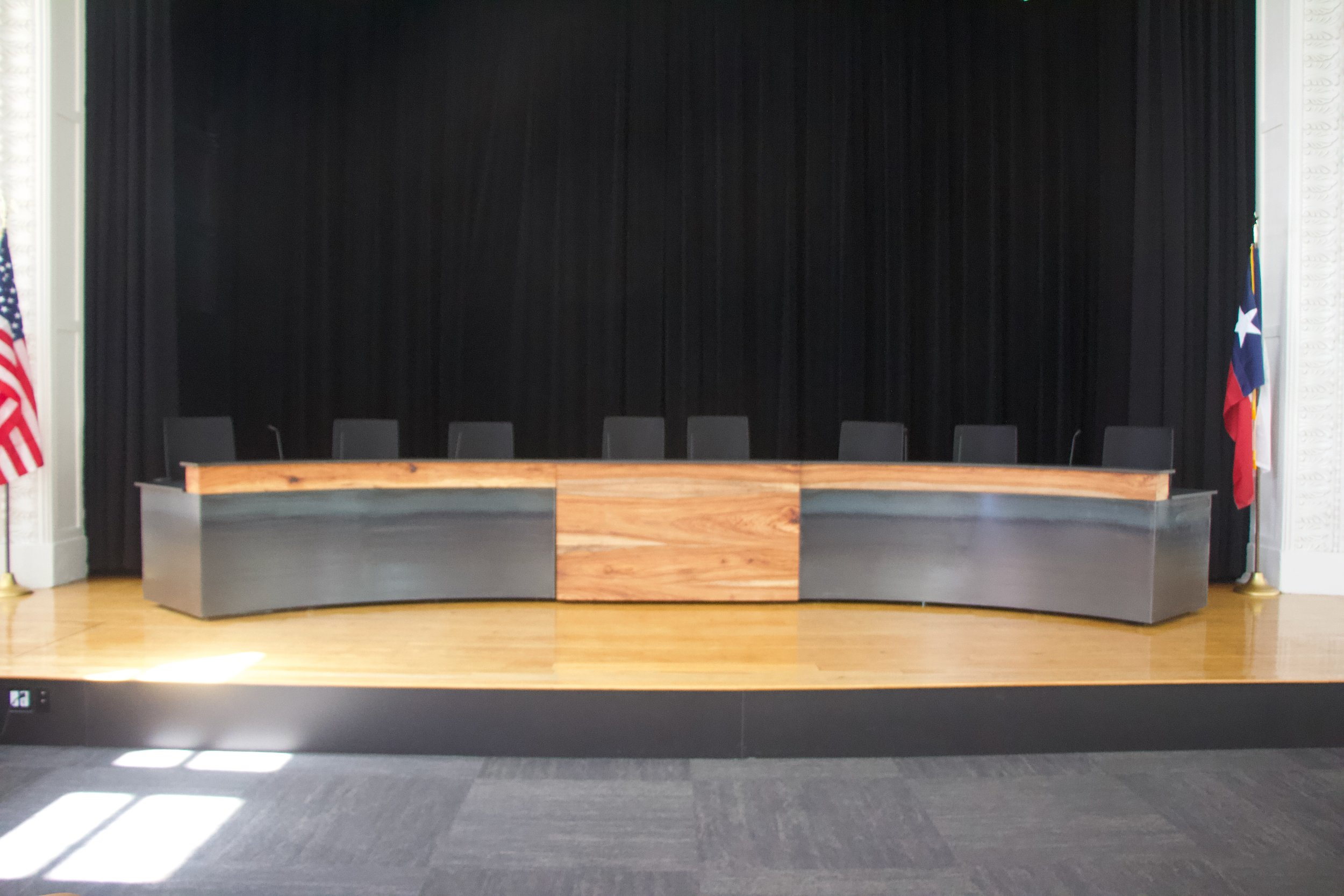 Dais Desk for Georgetown ISD