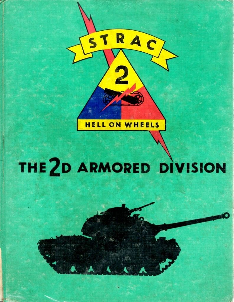 2nd Armored Division   1962-1962 Yearbook Cover