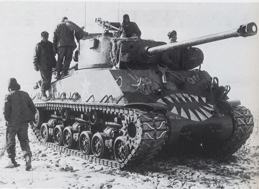 Bumper # C4 of the 89th Tank Battalion