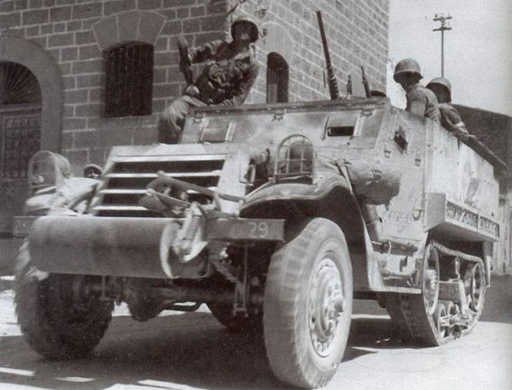 ''Cochran'' of 'C' Company, 82nd Reconnaissance Battalion. Ribera, Sicily, Jul 1943.