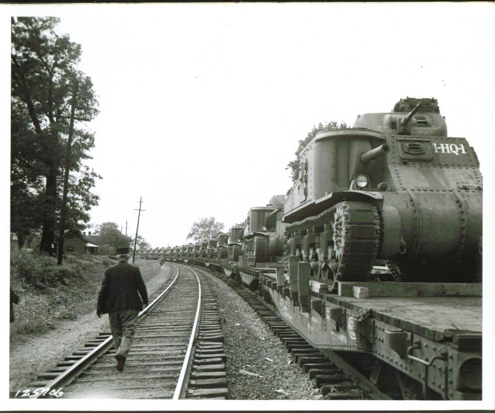 M3 Lees on train. Rock Hill, SC.