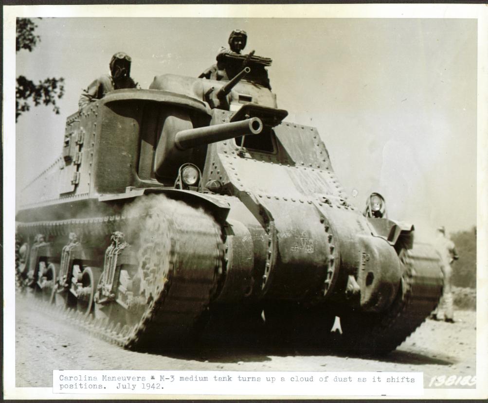 Carolina manuevers, Jul 1942.