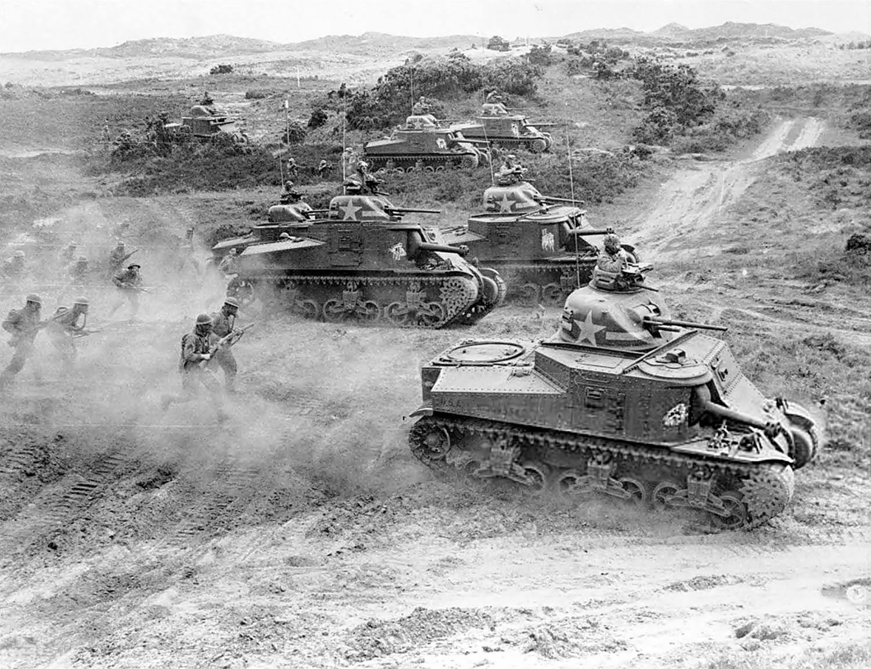 1st Armored Division training.Northern Ireland, 28 Jun, 1942.