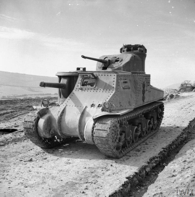M3 Medium Tank (Lee Mk I), 11 March 1942.IWM photo H 17821