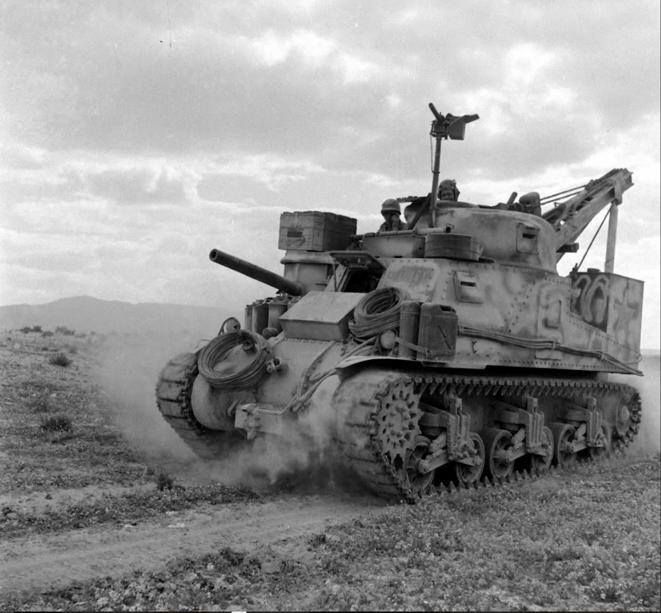 ''CLUMSY'', Tunisia,1943.