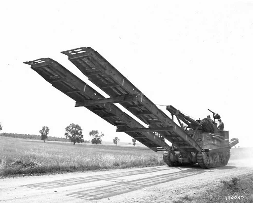 M31 in the engineer role as a bridge carrier.