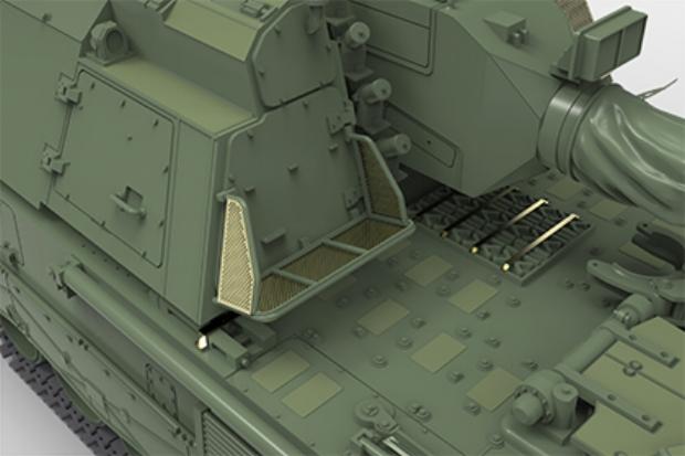 Turret Storage Bracket Option 1 (German narrow)