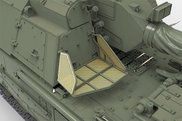 Turret Storage Bracket Option 2 (Dutch wide)