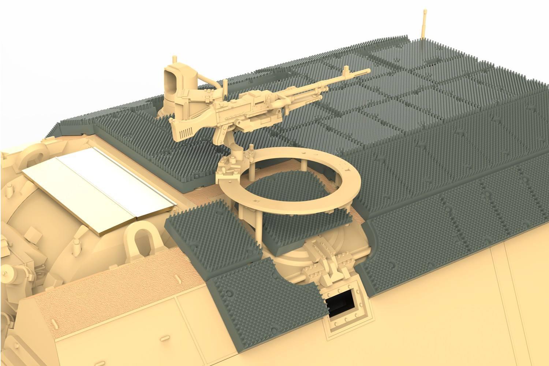 Turret Machine Gun Option - Dutch FN MAG.