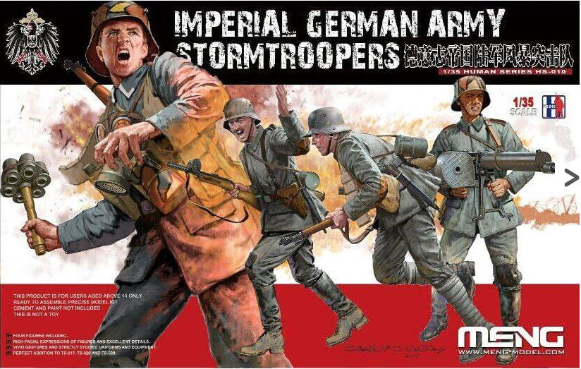 MENG KIT # HS-010 1-35 Imperial German Army Stormtroopers.png