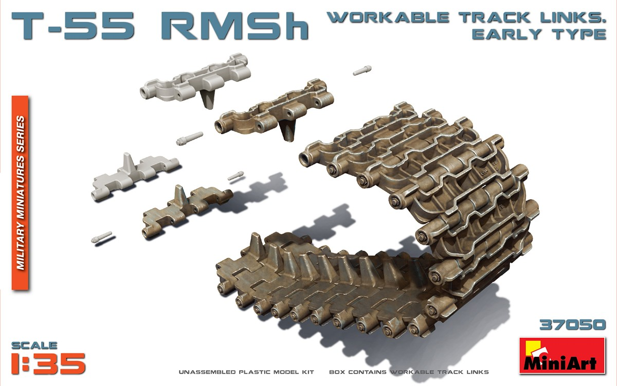 MINIART KIT # 37050 1-35 T-55 RMSh WORKABLE TRACK LINKS. EARLY TYPE.jpg