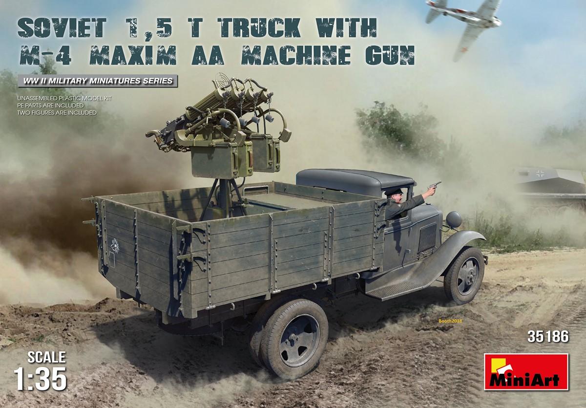 MINIART KIT # 35186 1-35 SOVIET 1,5 t. TRUCK w M-4 Maxim AA Machine Gun.jpg