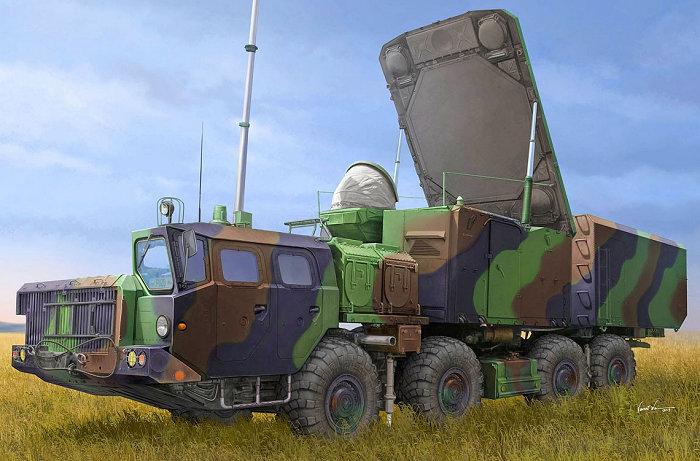 01043 Russian 30N6E Flaplid Radar System.jpg