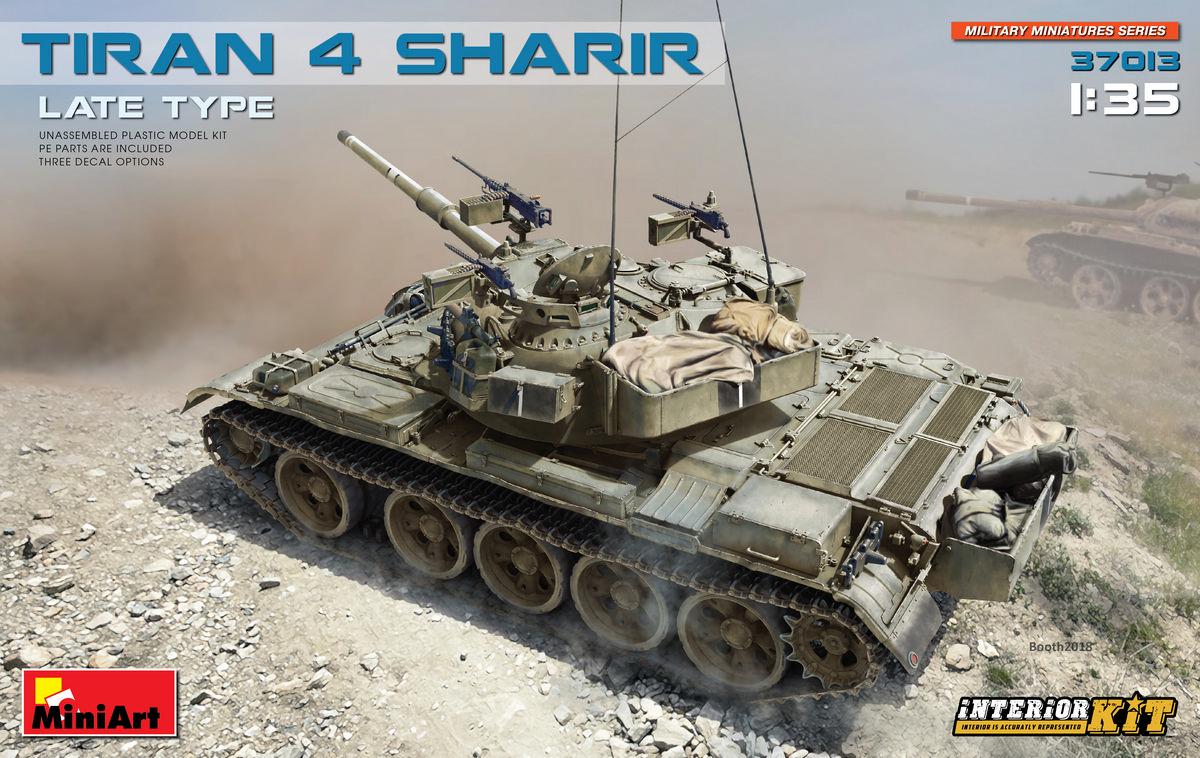 MINIART # 37013 1-35 TIRAN 4 SHARIR LATE TYPE. INTERIOR KIT.jpg