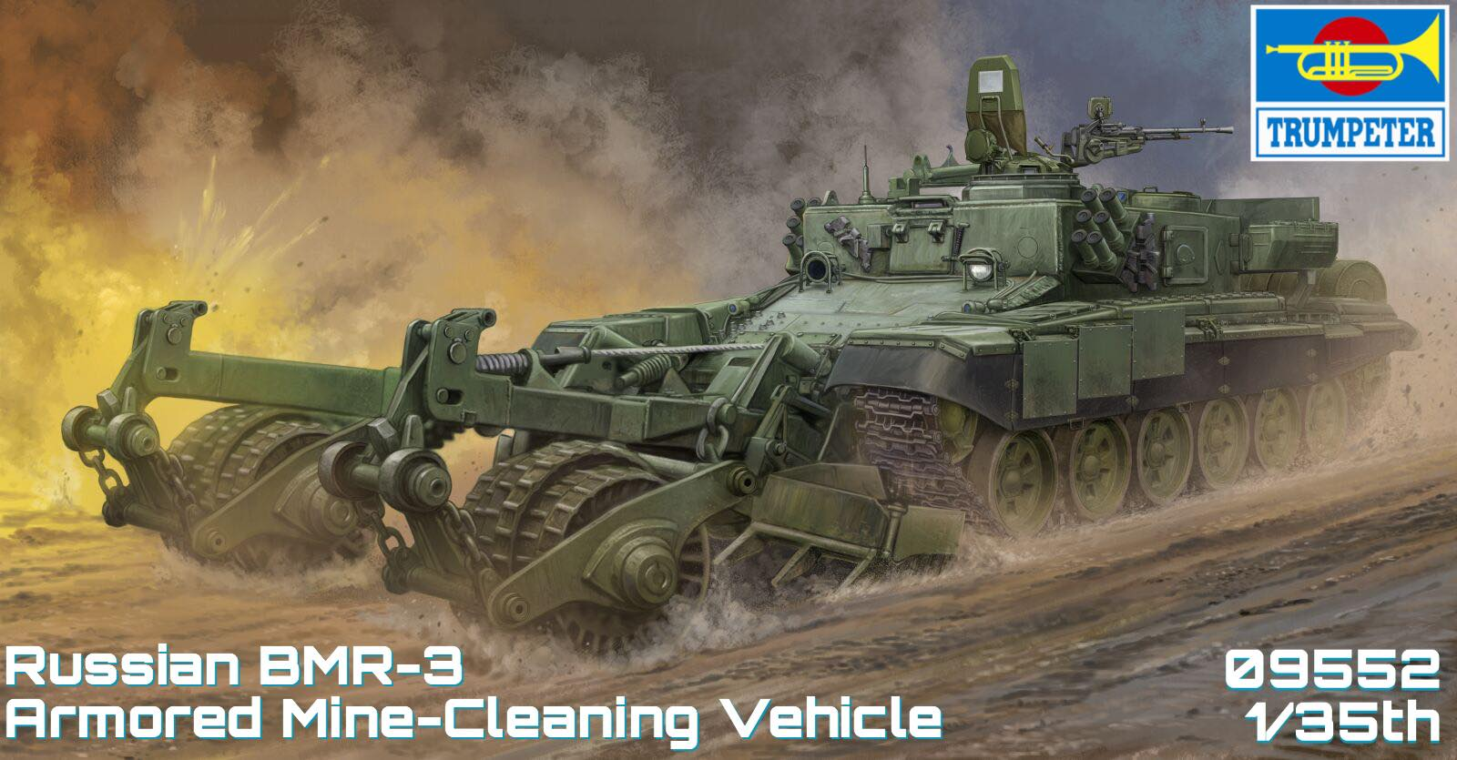 TRUMPETER KIT # 09552 1-35 Russian BMR-3 Armored Mine-Cleaning Vehicle.jpg