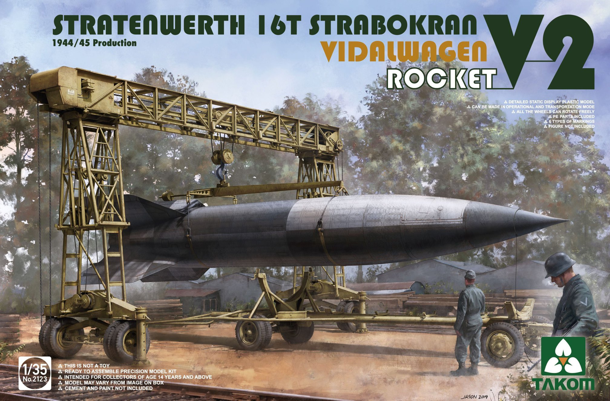 TAKOM # 2123 1-35 Stratenwerth 16T Strabokran Vidalwagen V2 Rocket.jpg
