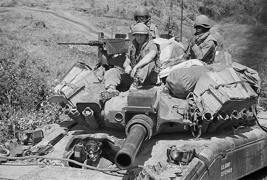 M551 Covering South Vietnamese Advance during Operation Lam Son 719.