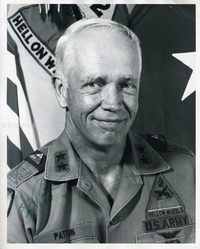 MG George Patton IV. 2AD commander: 5 Aug 1975 – 3 Nov 1977.