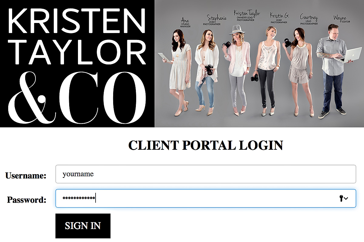 CLIENT PORTAL - FOR EASY ONLINE ACCESS TO OUR BOOKING SYSTEM, YOUR CONTRACT, INVOICES, PAYMENTS, INFO SHEET, ETC.
