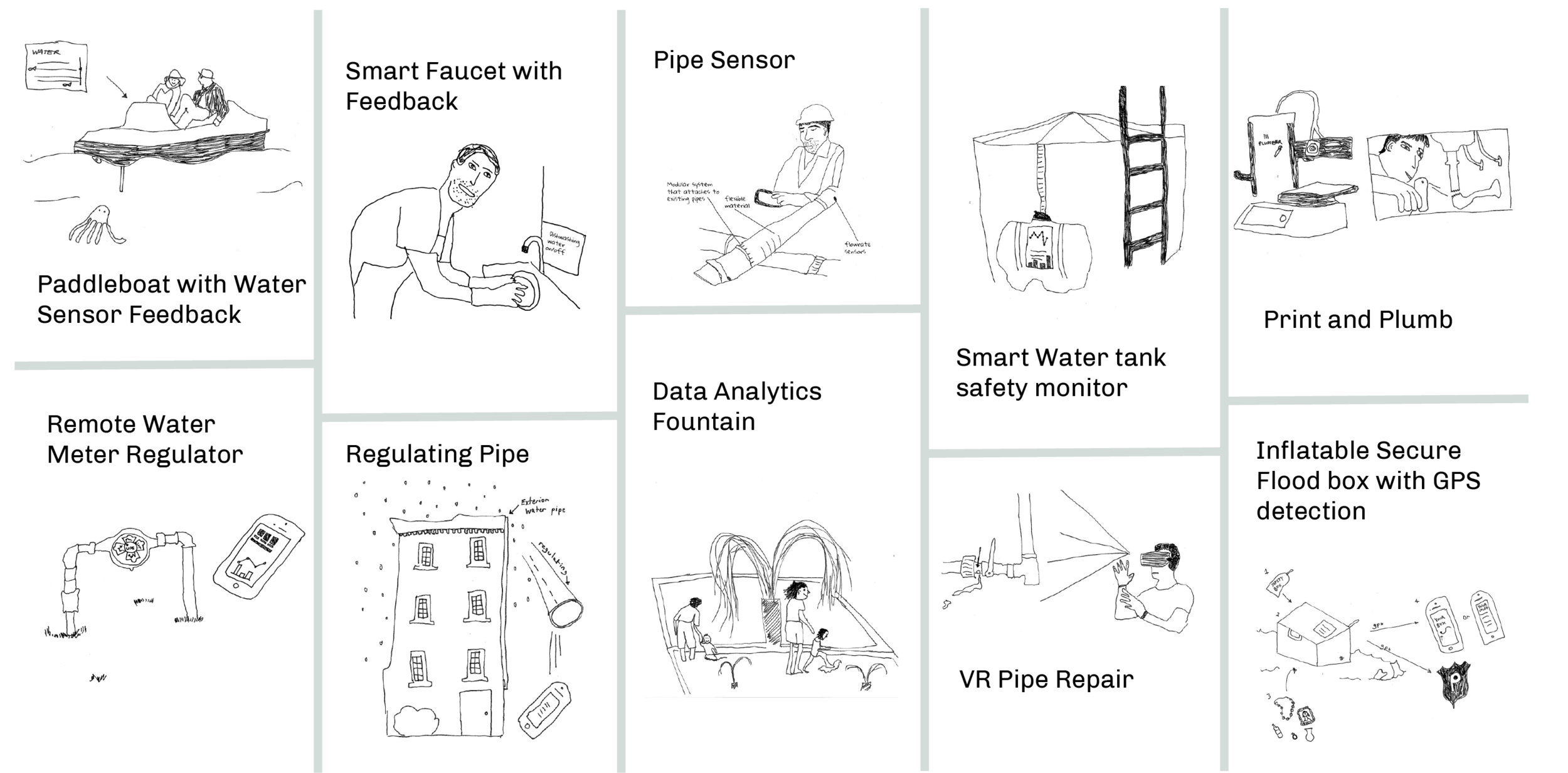 *This is a selection of the sketches I made from the suite of 32