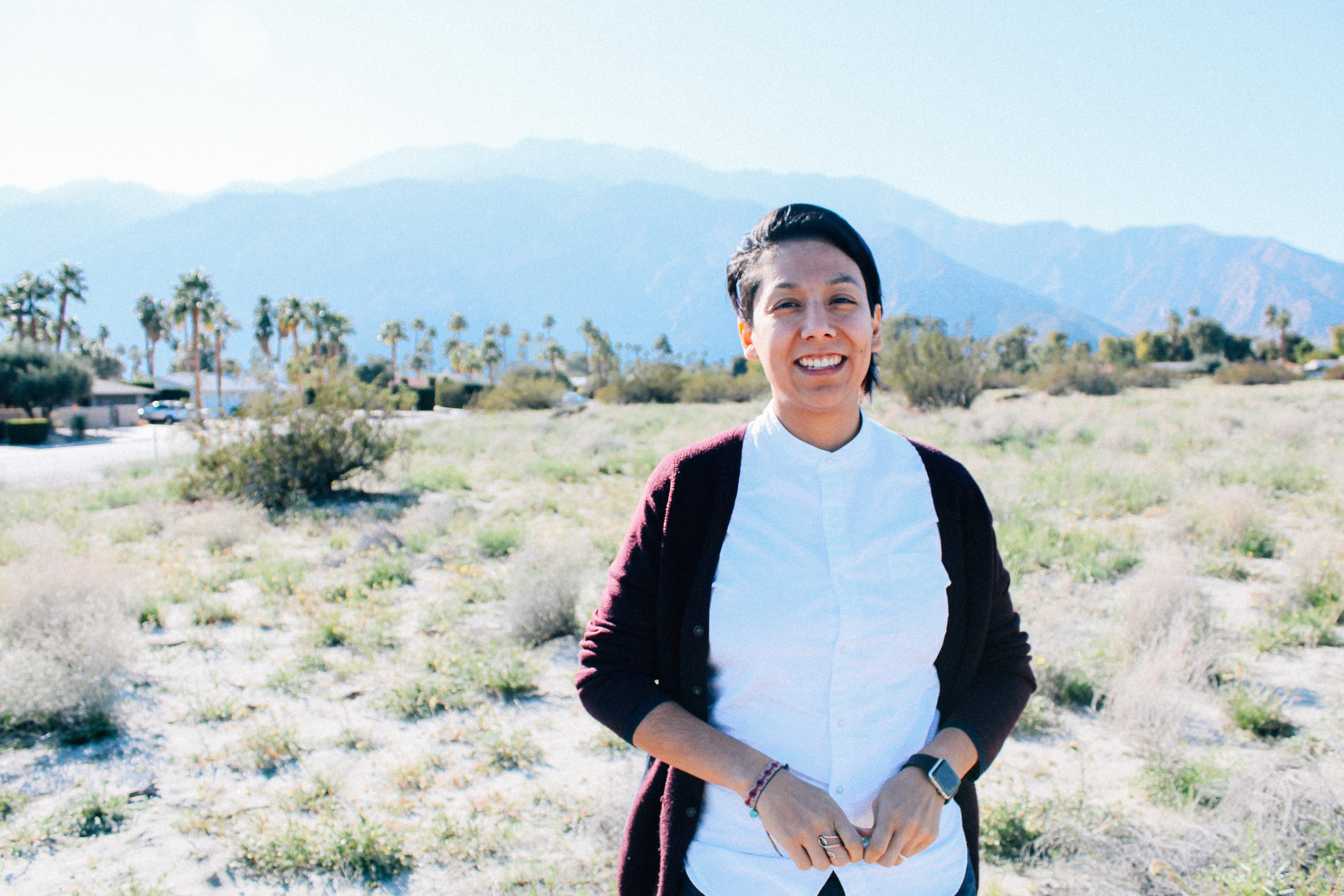 alexis ortegaAdmin & Social Media techie - Alexis (she/her, they/them) is queer AF, holding it down in community in Palm Springs, CA, working with and in the intersections of local communities of color, queer and trans folks, and young people. Alexis is offering administrative and technical support in bringing the Black Trans Bike Experience to life in digital spaces.