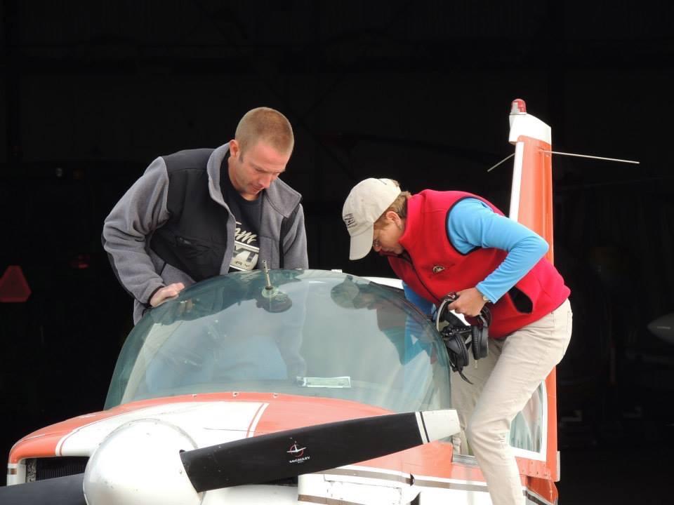 Instructing for Scioto Valley 99s Right Seat Companion Course