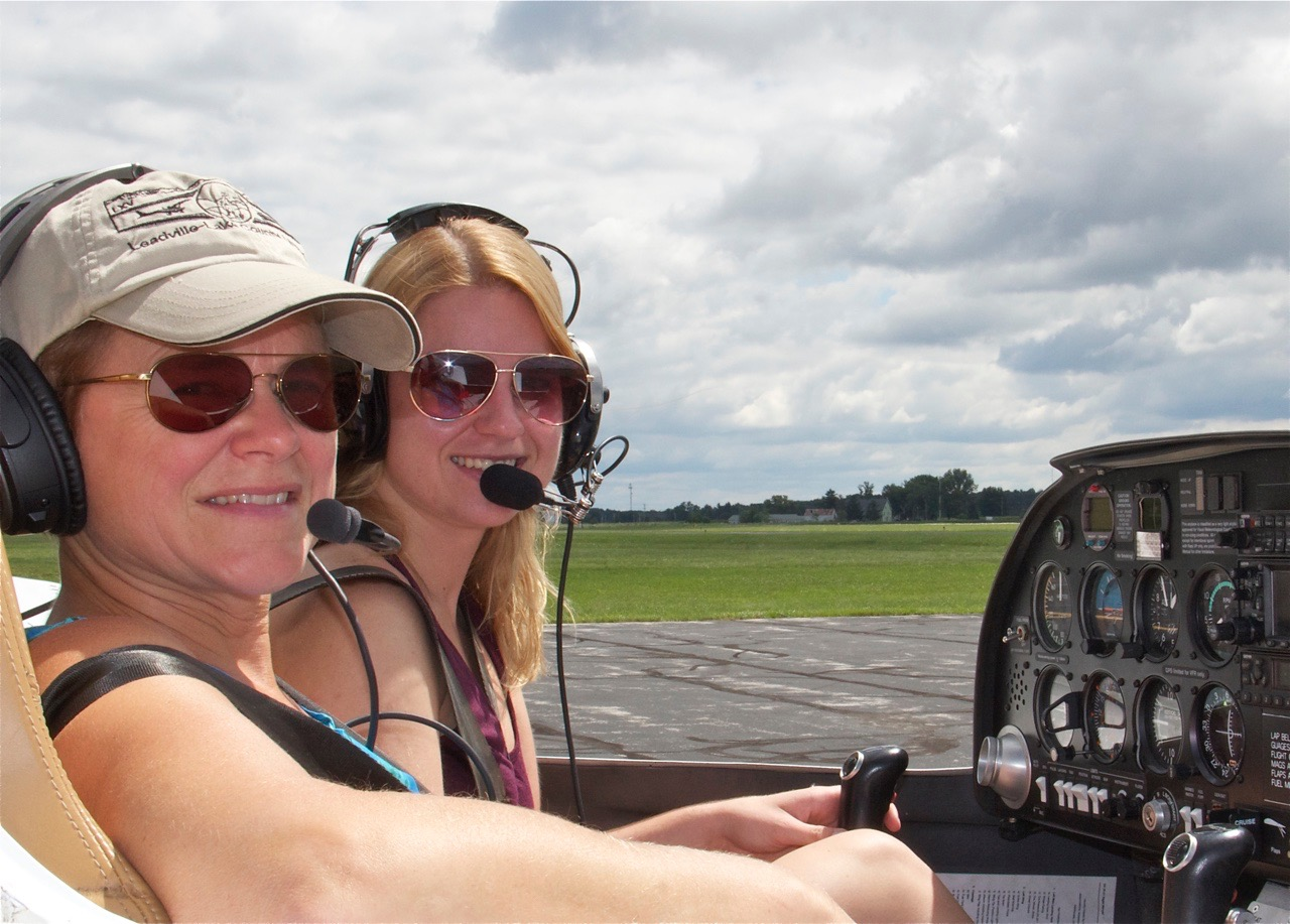 Heading out for a training flight in a DA20 (lucky hat on)