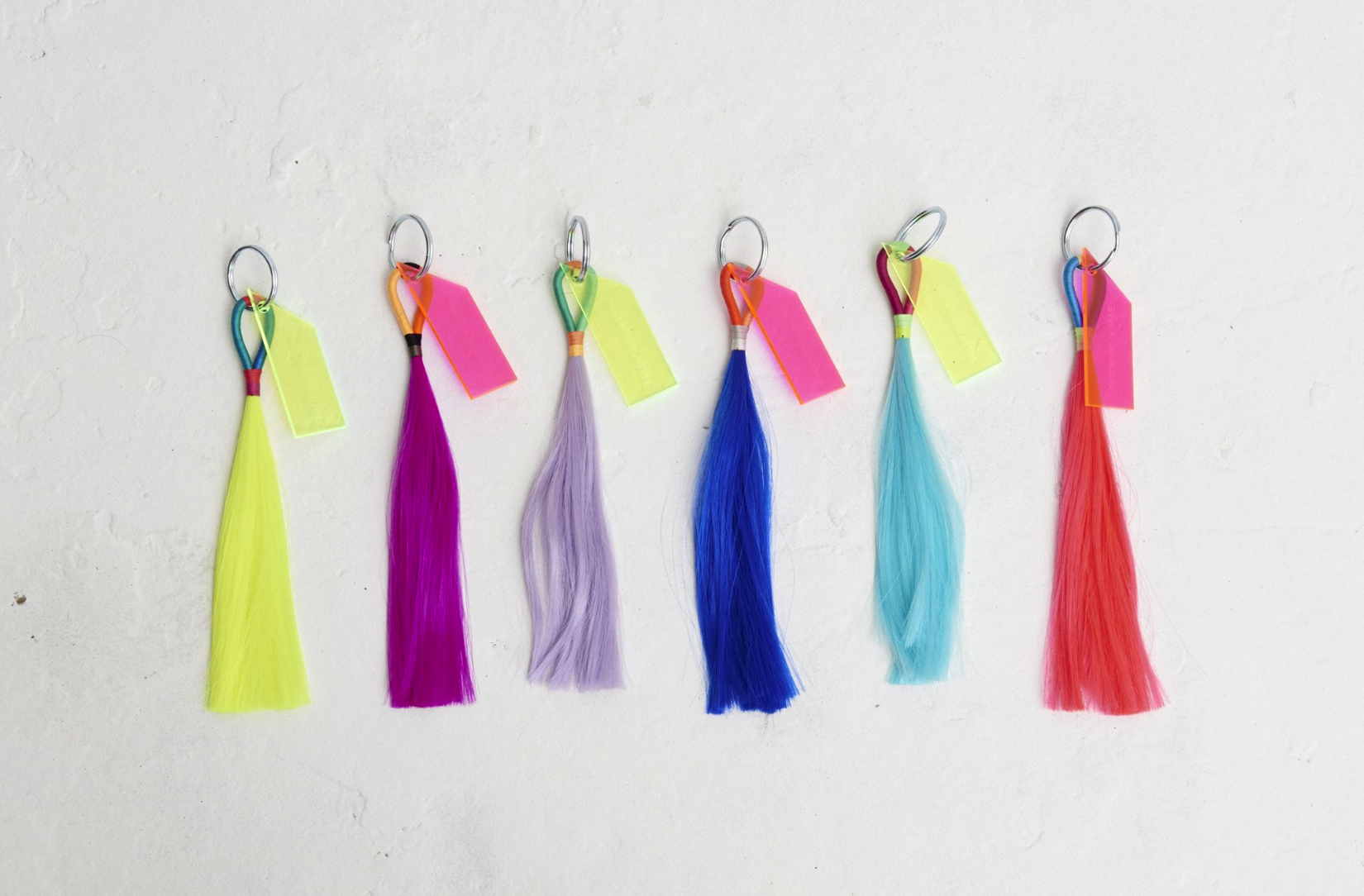Technicolor Tassels by Fredricks & Mae   We'll take two in each color!