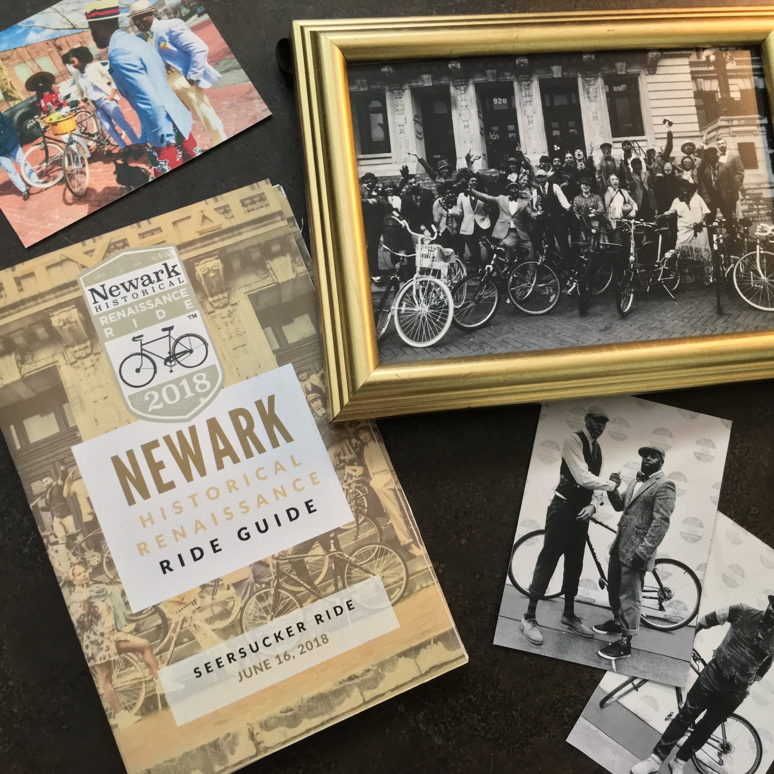 Newark Historical Renaissance Ride 2018 Seersucker Summer Social Ride Guide